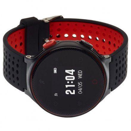 Smartwatch Garett Sport21 Czarno-Czerwony