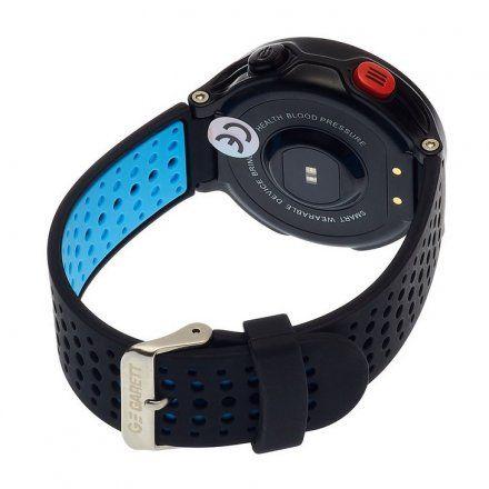 Smartwatch Garett Sport21 Czarno-Niebieski
