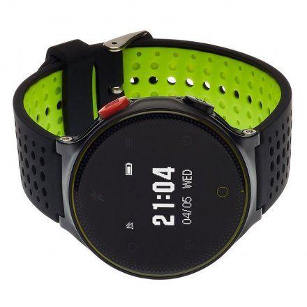Smartwatch Garett Sport21 Czarno-Zielony