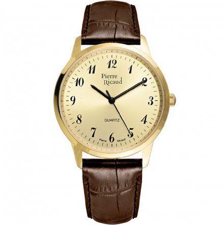 Pierre Ricaud P91090.1B21Q Zegarek - Niemiecka Jakość