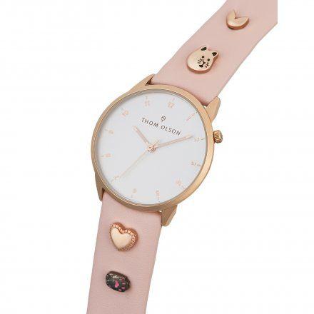 Zegarek Thom Olson CBTO023 Chisai Pink Neko