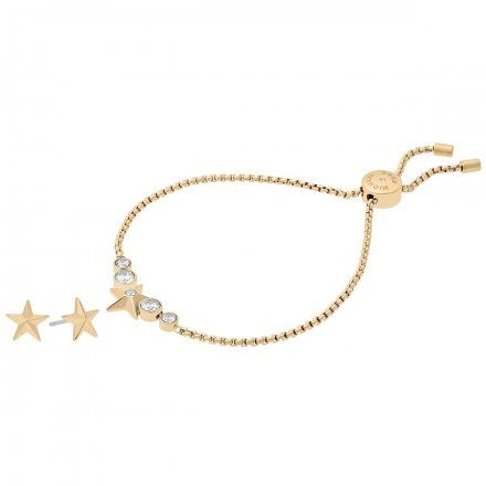 Biżuteria Michael Kors - Bransoleta MKJ7040710 + Kolczyki