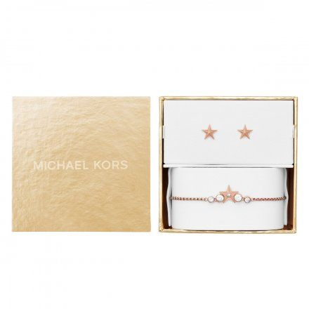 Biżuteria Michael Kors - Bransoleta MKJ7041791 + Kolczyki