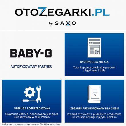 Zegarek Casio BGS-100SC-1AER Baby-G BGS 100SC 1A