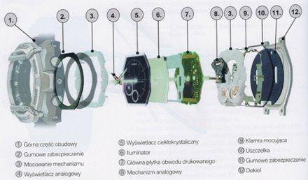 Zegarek Męski Casio MTG-B1000B-1AER G-Shock MTG B1000B 1A