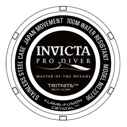 Invicta IN23735 Zegarek męski Invicta Pro Diver 23735
