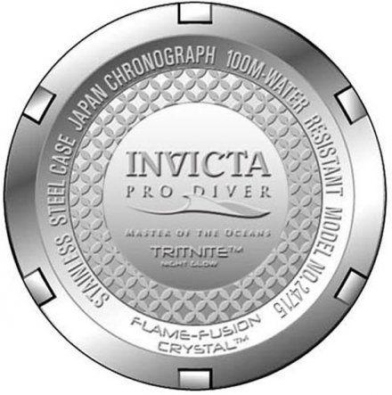 Invicta IN24715 Zegarek męski Invicta Pro Diver 24715