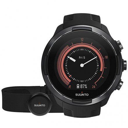 Suunto SS050089000 Suunto 9 Baro Black HR