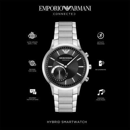 Emporio Armani Connected ART3000 Hybrydowy Zegarek SmARTwatch Ea
