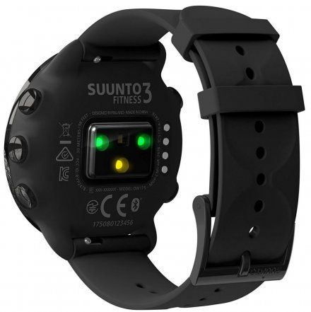Suunto SS050020000 Suunto 3 FitneSS All Black