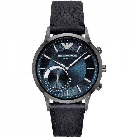 Emporio Armani Connected ART3004 Hybrydowy Zegarek Smartwatch EA - SALE -40%