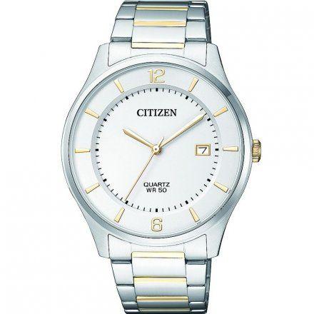 Citizen BD0048-80A Zegarek Męski na bransolecie Citizen Classic