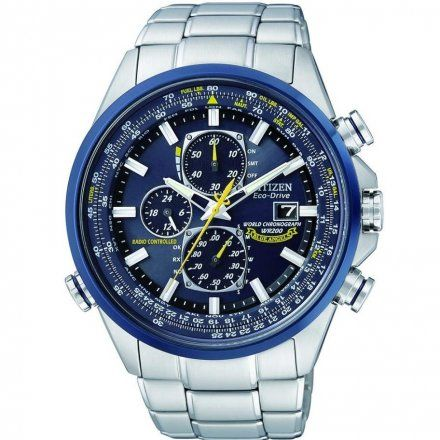 Citizen AT8020-54L Zegarek Męski Eco Drive Radiocontrol Blue Angels