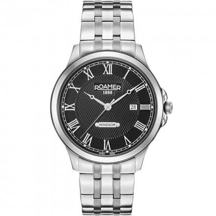 Roamer 706856 41 52 70 Zegarek Szwajcarski Windsor Gents