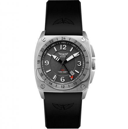 Zegarek Męski Aviator M.1.12.0.051.6 MIG-29 Gmt