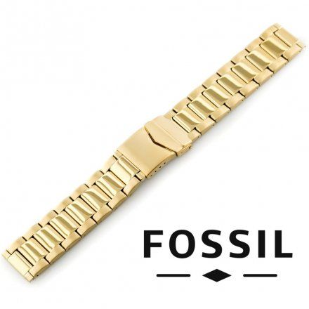 Pasek FOSSIL - Oryginalna bransoleta stalowa powlekana do zegarka Fossil