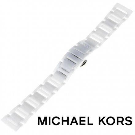 Pasek MICHAEL KORS - Oryginalna bransoleta ceramiczna do zegarka Michael Kors