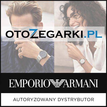 Pasek Emporio Armani - Oryginalna Bransoleta Stalowa Powlekana Do Zegarka Emporio Armani