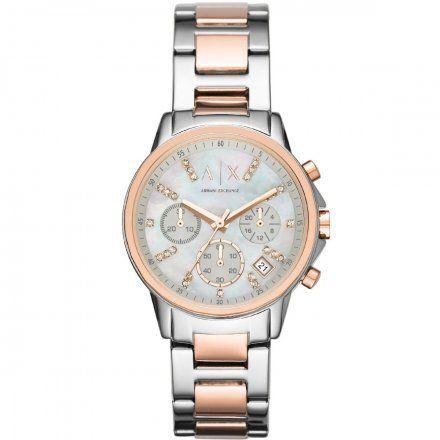 AX4331 Armani Exchange LADY BANKS zegarek AX z bransoletą