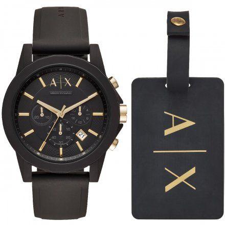 AX7105 Armani Exchange OUTERBANKS zegarek AX z paskiem