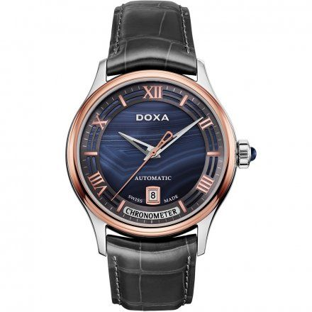 Zegarek Doxa Grandemetre Blue Planet Limited Edition D198RAG