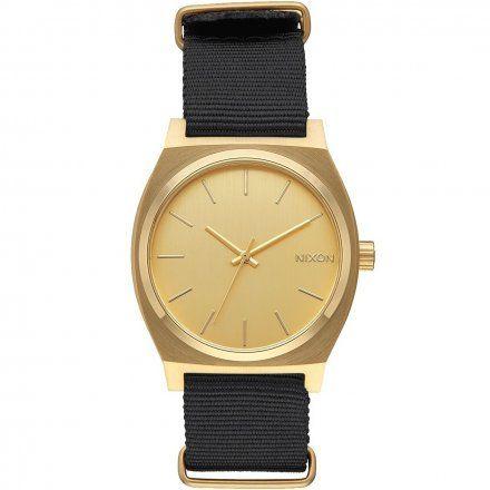 Zegarek Nixon Time Teller Gold Black - Nixon A0451513