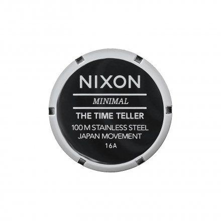 Zegarek Nixon Time Teller Gunmetal - Nixon A0451885