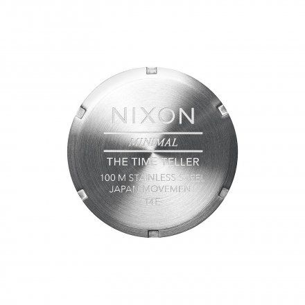 Zegarek Nixon Time Teller Gold Blue Sunray - Nixon A0451922