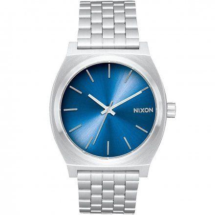 Zegarek Nixon Time Teller Blue Silver - Nixon A0452797
