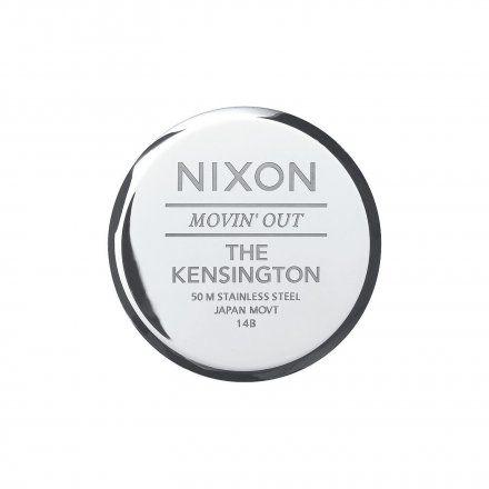 Zegarek Nixon Kensington Silver Black - Nixon A0991000