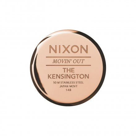 Zegarek Nixon Kensington All Rose Gold - Nixon A0991897
