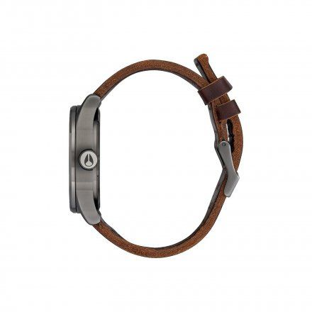 Zegarek Nixon Sentry Leather Gunmetal Dark Brown Nixon A1052737