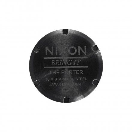 Zegarek Nixon Porter All Black / White - Nixon A10571756