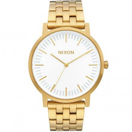 Zegarek Nixon Porter All Gold / White Sunray - Nixon A10572443