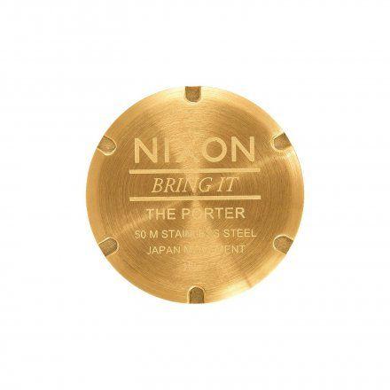 Zegarek Nixon Porter All Gold / White Sunray - Nixon A10572443