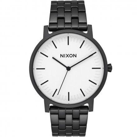 Zegarek Nixon Porter Matte Black / White - Nixon A10572493