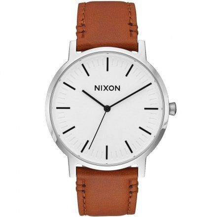 Zegarek Nixon Porter Leather White Sunray/Saddle Nixon A10582442