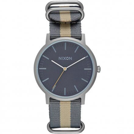 Zegarek Nixon Porter Nylon Gray/Taupe - Nixon A10592440
