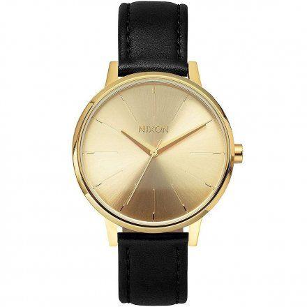 Zegarek Nixon Kensington Leather Gold - Nixon A1081501