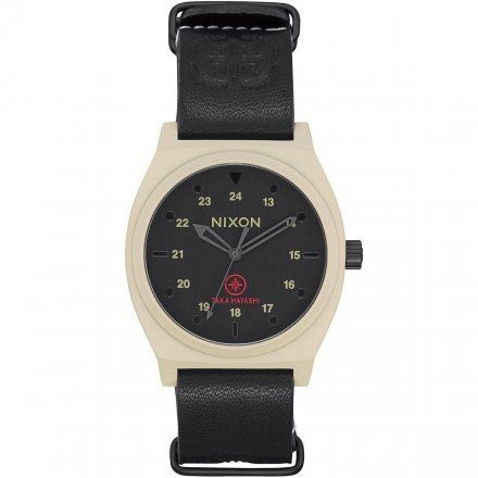 Zegarek Nixon Time Teller Ltd Bone/Black Taka - Nixon A11202518