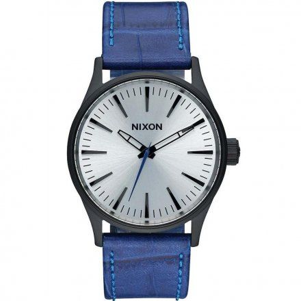 Zegarek Nixon Sentry 38 Leather Black/Blue Gator Nixon A3772131