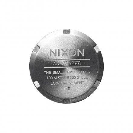 Zegarek Nixon Small Time Teller Plum - Nixon A3992157