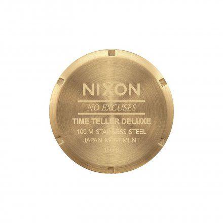 Zegarek Nixon Time Teller Deluxe Gold/Black Sunray Nixon A9271604