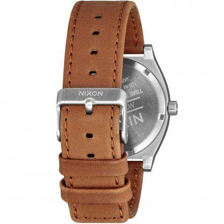 Zegarek Nixon Time Teller Deluxe Silver Sunray/Saddle Nixon A9272310