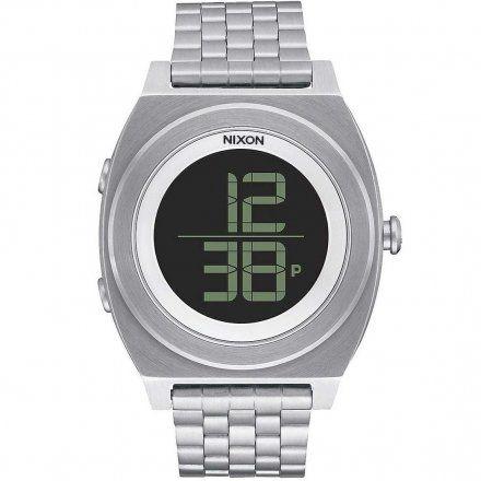 Zegarek Nixon Time Teller Digi Ss Black - Nixon A9481000