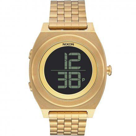 Zegarek Nixon Time Teller Digi Ss All Gold - Nixon A9481502