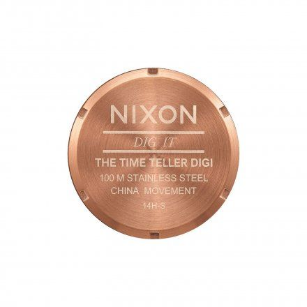 Zegarek Nixon Time Teller Digi Ss All Rose Gold - Nixon A9481897