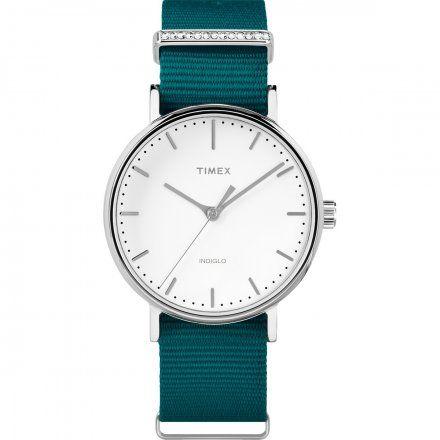 TW2R49000 Zegarek Damski Timex Weekender Fairfield Crystal TW2R49000