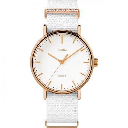 TW2R49100 Zegarek Damski Timex Weekender Fairfield Crystal TW2R49100