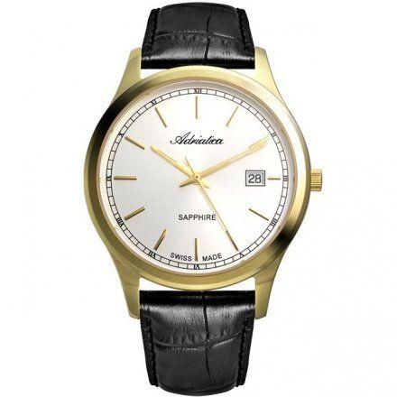 Zegarek Męski Adriatica A8258.1213Q - Zegarek Kwarcowy Swiss Made